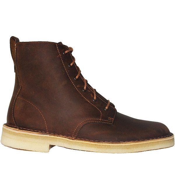 Clarks Originals Desert Mali - Beezwax Leather High Top Boot
