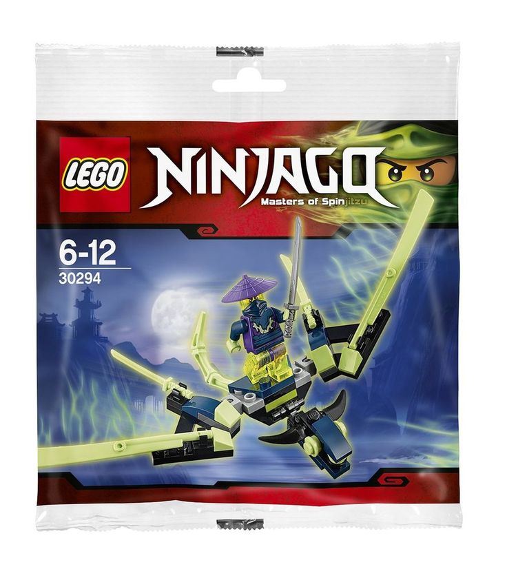 Lego Ninjago 30294 The Cowler Dragon Ghost Warrior Set New/Sealed!! 45pcs Rare!  #LEGO