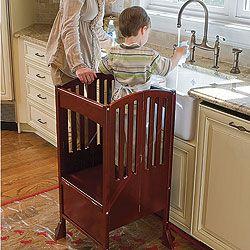 $150   I SO SO need to buy this. Kids Kitchen Helper Safety Tower Step Stool @Sondra Lafferty-Riney & @Deana Johnson