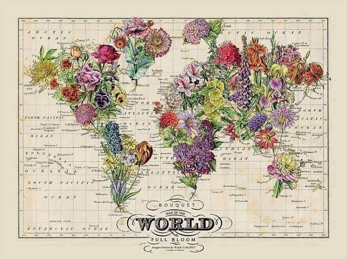 Настенные карты мира-10