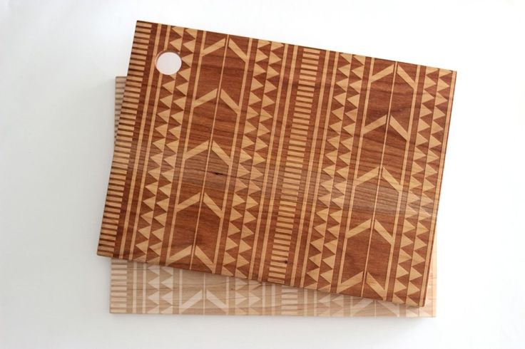 Small Tribal Cutting Board (More Colors) | A Well-Crafted Life