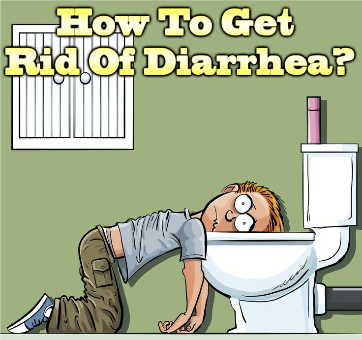 how to get rid of watery diarrhea