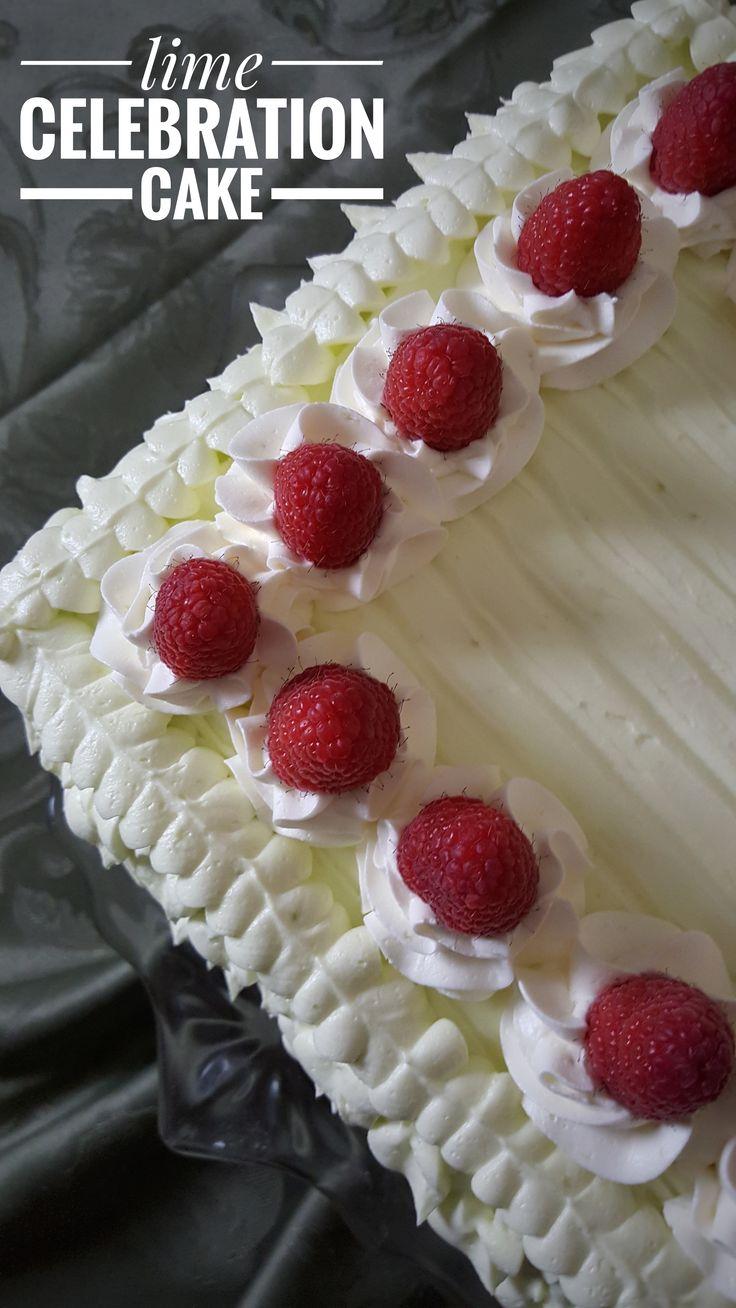 Lime Celebration Cake