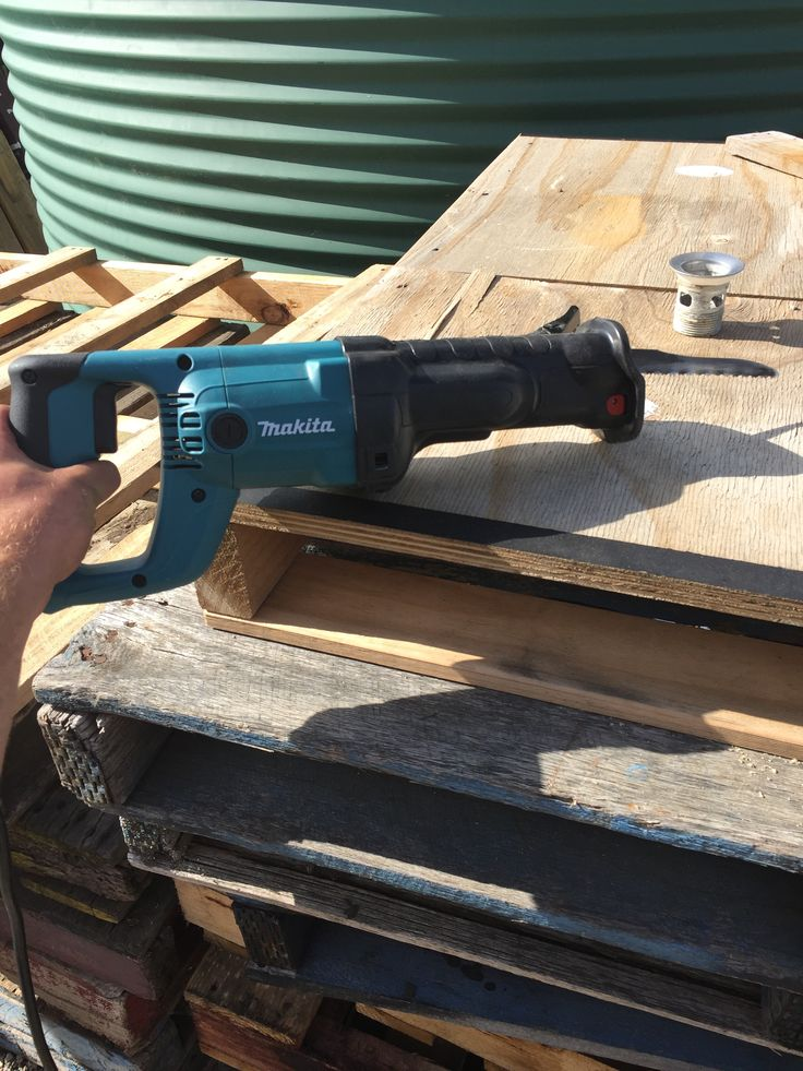 Easiest way to take apart pallets is with a reciprocating saw.
