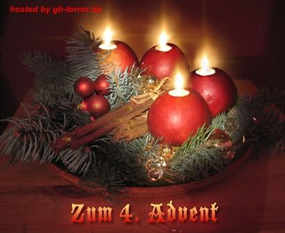 Vierter Advent GBBild - 4. Advent GB-Pics, GB-Bilder & Gästebuch ...
