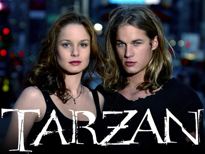 Sarah Wayne Callies with Travis Fimmel as John Clayton, a.k.a. Tarzan   -  2003
