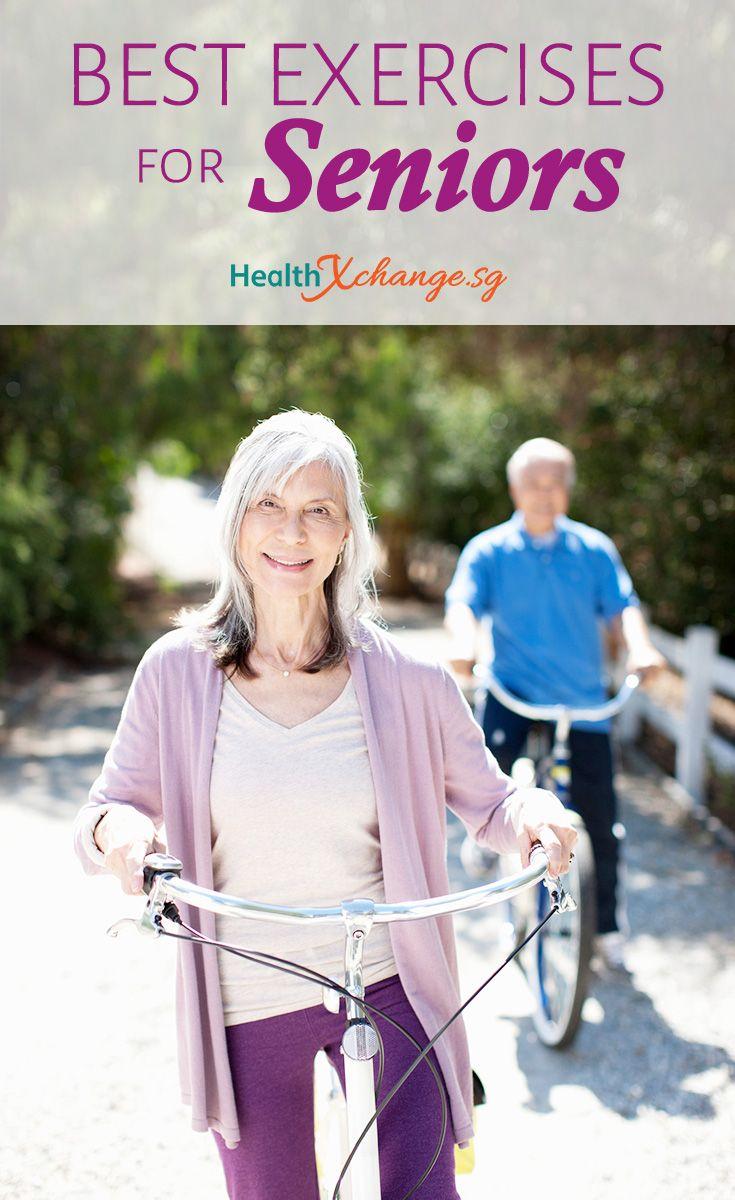 Best Exercises for Seniors Many seniors feel they are