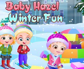 Малышка Хейзел Зимние Забавы, http://www.babyhazelworld.com/game/malyshka-hjejzjel-zimnije-zabavy. Не смотря на то, что зима уже закончилась, но на улиц еще лежит снег. Пользуясь тем, что еще не весь снег растаял малышка Хейзел идет играть во двор