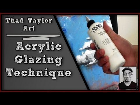 Acryic Painting tip: How to paint a background for a still life - YouTube