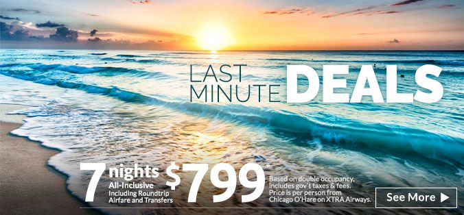 For all-inclusive vacations, last-minute deals, and vacation packages to the Caribbean, Hawaii, Mexico, and more, visit AppleVacations.com – America's #1 Tour Operator.
