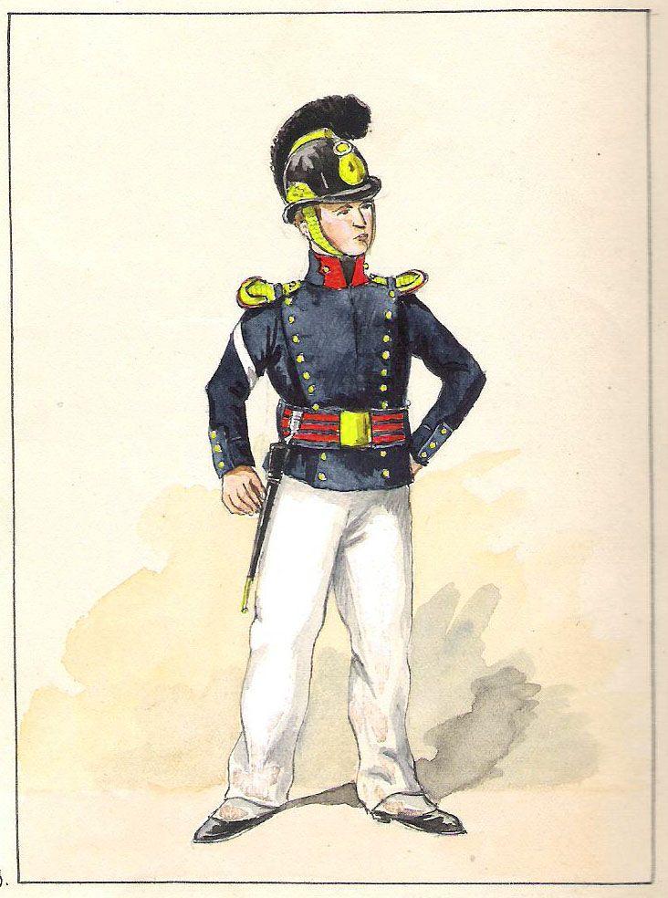 Equipage de ligne Elève-Maître (1825-1829 )
