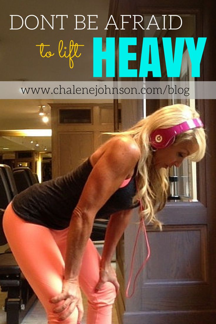 Muscle is the fountain of youth… Do not be afraid to lift heavy! Read about why lifting heavy is amazing for your physique http://www.chalenejohnson.com/healthy-living/fitness-myths-dispelled-lifting-heavy-will-cause-you-to-bulk-up/