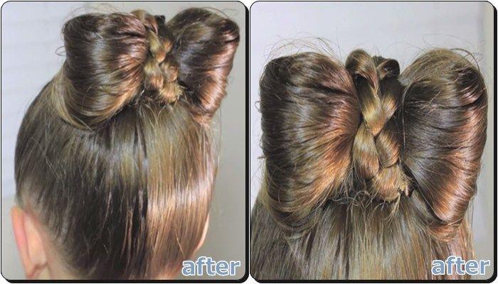 子供 浴衣の髪型 簡単リボンヘア 簡単 ヘアアレンジ 髪型 リボン