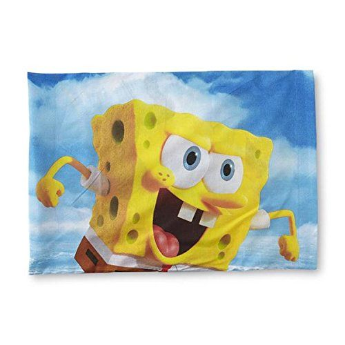 SpongeBob SquarePants Reversible Standard Pillowcase @ niftywarehouse.com #NiftyWarehouse #Spongebob #SpongebobSquarepants #Cartoon #TV #Show
