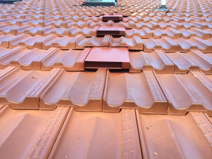 Tile roof ventilators Unobtrusive, unlike the alternative ones, which are an eyesore, also available for colourbond roofs