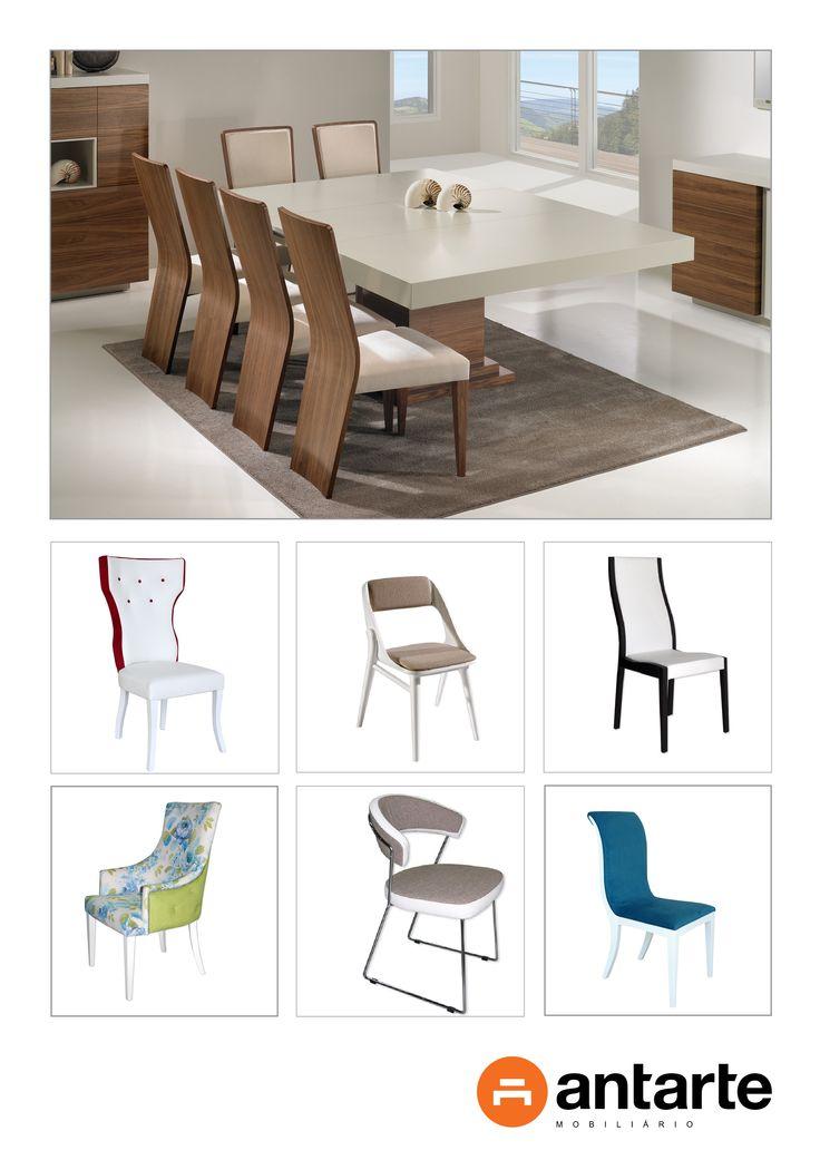 As cadeiras são peças muito importantes para compor a decoração e dar vida ao ambiente. O modelo da cadeira reforça o estilo da casa e expõe a personalidade do espaço. A Antarte deixa-lhe assim uma selecção de cadeiras para que escolha a que vai mais ao encontro das suas preferências.