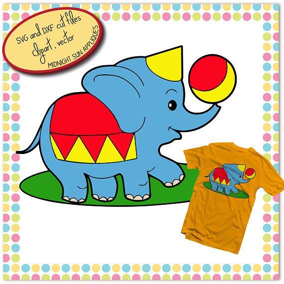 Elephant cartoon cute SVGsvg