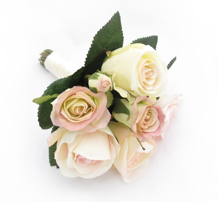 Garden roses in mixed pinks and cream are pretty and oh so girly! Find your perfect flower girl flowers at www.loveflowers.com.au