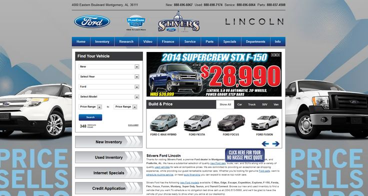 Good Visit Our Ford Lincoln Website At Http://stiversfordlm.com/