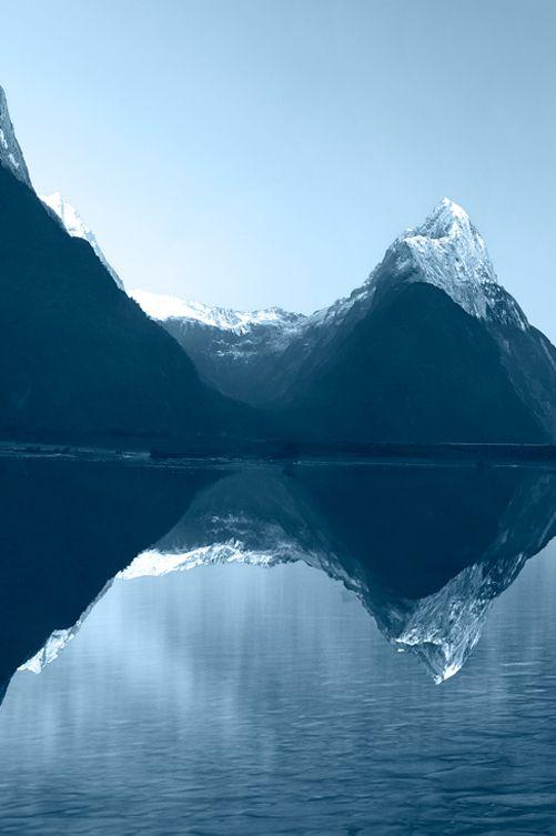 ...Mitre Peak, New Zealand