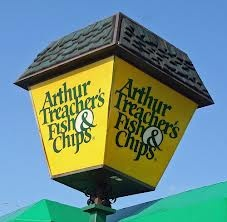 Arthur Treachers Fish & Chips!  I haven't seen one of these in years.  I would eat some right now.