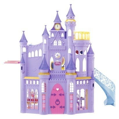 New Disney Ultimate Princess Barbie Castle 50 Pieces 3 Story Musical Doll House | eBay