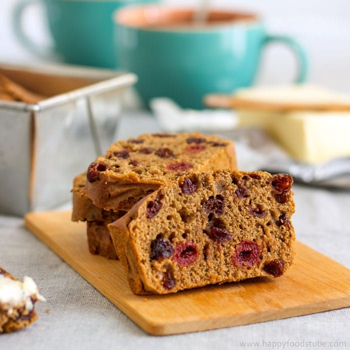 Irish Barmbrack tea cake is a traditional Halloween treat in Ireland. Dried fruit & spices make it extra delicious. Try my yeast-free recipe.