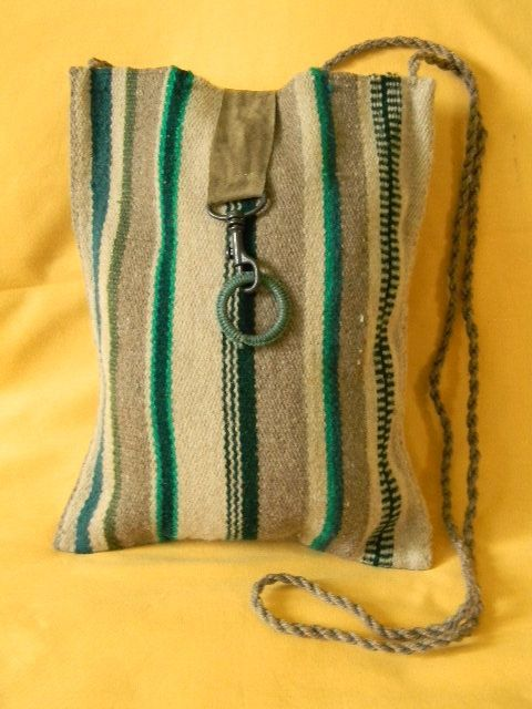 Hand woven bag from wool. tote bag. by ducida on Etsy, $28.00