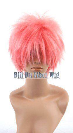 Ао нет Exorcist. Shima renzou, 242.12 дюйм(ов) shaggy слоистых розовый костюм косплей Парик, бесплатная доставка