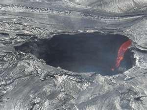 Crater at Mauna Loa,  Hawaii Volcanoes National Park