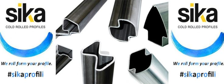 Customized steel profiles. www.sikaprofili.com