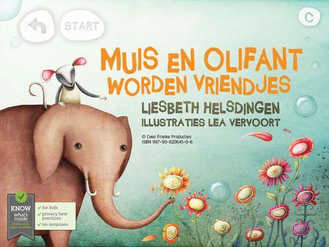 Muis en Olifant worden vriendjes voor iPad €3,59