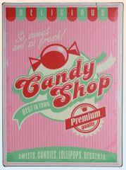 Americká ceduľa - Candy shop