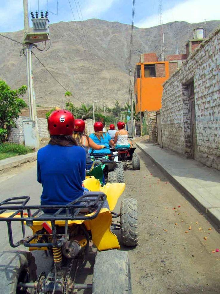 Cuatrimotos en Lunahuana Cañete, Lima - Per+u  http://www.placeok.com/recomendaciones-sobre-la-practica-de-deportes-de-aventura-para-novatos/
