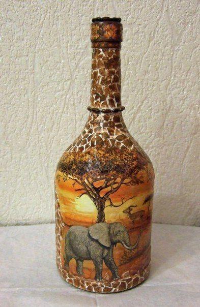 Декорирование бутылки. Африканские мотивы / IPv2 - Глобальная информация