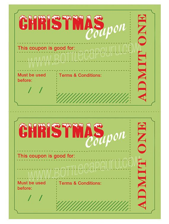 The 25+ best Christmas present voucher templates ideas on - fun voucher template