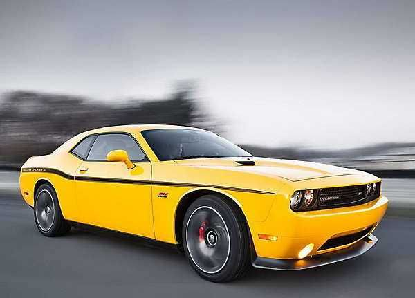 2018-2019 Dodge Challenger SRT8 392 Yellow Jacket — special edition 2018-2019 Dodge Challenger