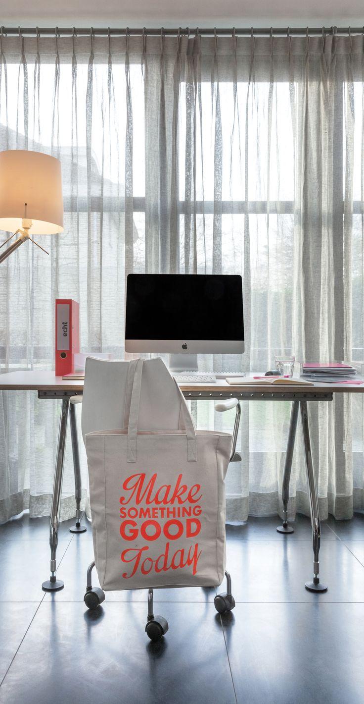 echt linnen gordijnen | echt licht op je werkplek