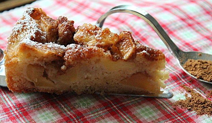Torta di mele di Laura Ravaioli : morbida, profumatissima e molto buona. Requisito fondamentale di questa ricetta è la facilità dell'esecuzione.