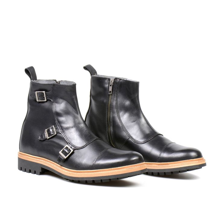 CR7 Mumadona Triple Monk Boot – Portugal Footwear