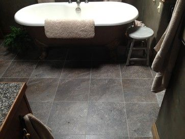 17 best images about luxury vinyl tile on pinterest for Luxury vinyl bathroom flooring