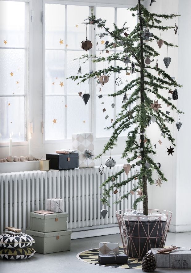 Ferm Living Christmas decor #christmas #decor #tree