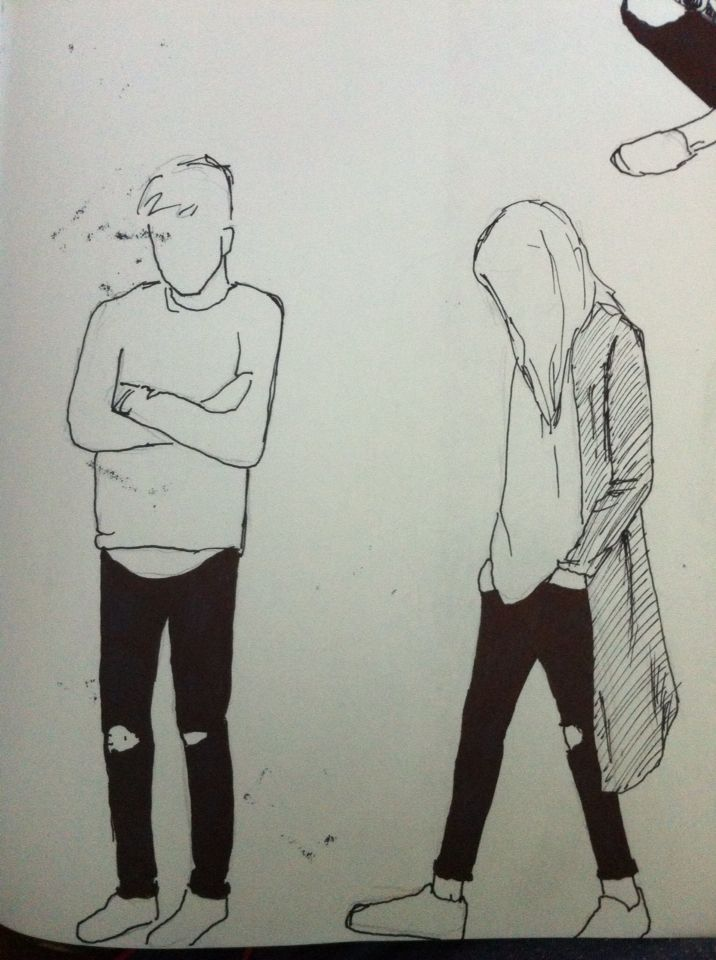 Clothing Illustration Drawing Ink
