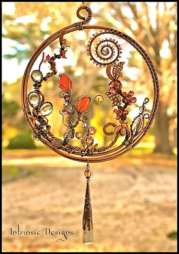 Stunning suncatcher by CATHY HEERY of INTRINSIC DESIGNS
