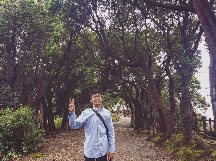 Tangkuban Parahu,Subang West Java Indonesia