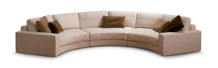 Best 25 curved sofa ideas on pinterest curved couch for Sofa 3 meter