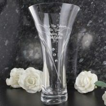 Personalised Heart Vase