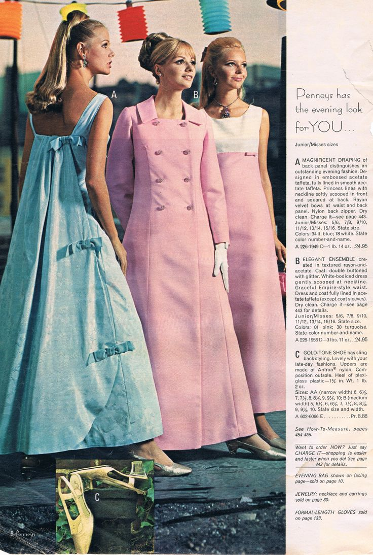 Retro Revolution Where To Find Vintage Clothing In: Penneys Catalog 60s