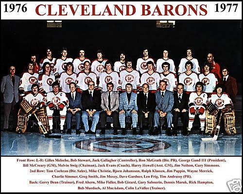 32 Best Images About Cleveland Barons Nhl On Pinterest