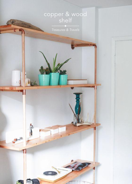 copper-&-wood-shelf-Treasures-&-Travels-Design-Crush